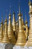 Myanmar (Burma) - Inle Lake - Shwe Inn Thein Paya Stock Photos