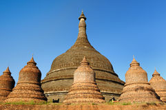 Myanmar (Burma), Mrauk U - Ratanabon Paya Stock Photo