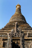 Myanmar (Burma), Mrauk U temple, Minkhaung Shwegu Paya Royalty Free Stock Image
