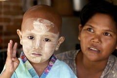 Myanmar Burma People Royalty Free Stock Photo