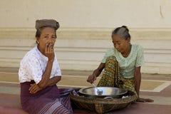 Myanmar Burma People Stock Photo