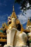 Myanmar (Burma), Shwedagon Paya in Yangon Royalty Free Stock Photo