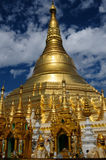 Myanmar (Burma), Shwedagon Paya in Yangon Royalty Free Stock Images