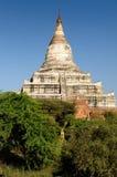Myanmar (Burma), Shwesandaw Paya tempel i Bagan Royaltyfri Foto