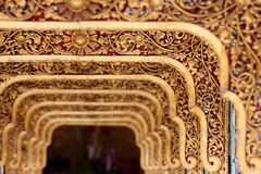 Myanmar Carving Royalty Free Stock Image