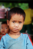 Myanmar child portrait Royalty Free Stock Image
