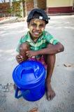 Myanmar children smile. Stock Images