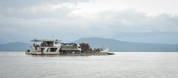 Myanmar classic cruise liner from Mandalay to Bagan Stock Photos