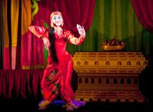 Myanmar Classical Dance Royalty Free Stock Images