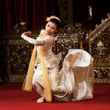 Myanmar Dance Stock Image