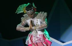 Myanmar dances Royalty Free Stock Photography
