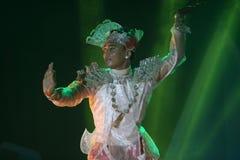 Myanmar dances Stock Photos