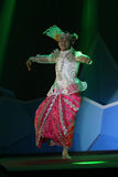 Myanmar dances Stock Photo
