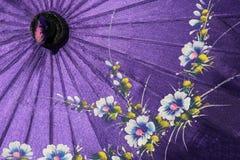 Myanmar den traditionella paraplyMyanmar Burman arkivbilder