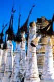 myanmar för burma inlelake relikskrin Royaltyfri Foto