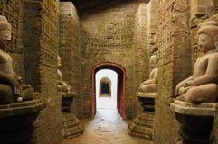 myanmar för burma kothaungmrauk tempel u Arkivfoto