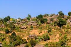 Myanmar flyktingläger Arkivfoto