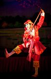Myanmar Folk Dance Stock Photos