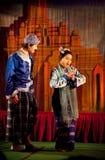 Myanmar Folk Dance Royalty Free Stock Image