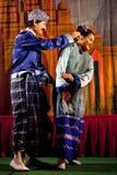 Myanmar Folk Dance Stock Images