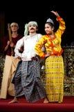 Myanmar Folk Dance Stock Photos