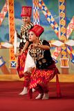 Myanmar Folk Kachin Dance stock photography
