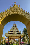 Myanmar garden,Southeast asia architecture style Stock Photo