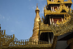 Myanmar Golden Temple Stock Photography