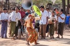 Myanmar het leven Royalty-vrije Stock Afbeeldingen