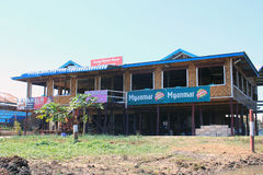 Myanmar Inle湖看法  图库摄影