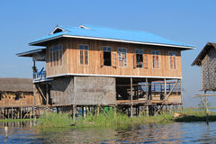Myanmar Inle湖 库存图片