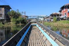 Myanmar Inle湖 免版税库存照片