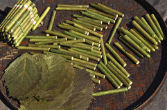 Myanmar, Inle Lake: cigars factory Royalty Free Stock Photography