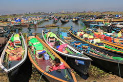Myanmar Inle Lake Royalty Free Stock Photography