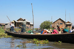Myanmar Inle Lake Royalty Free Stock Photography