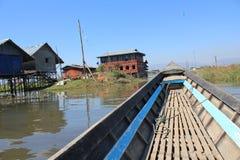 Myanmar Inle Lake Royalty Free Stock Photos