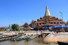 Myanmar Inle Lake Royalty Free Stock Images