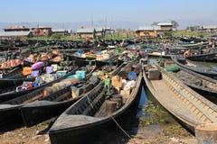Myanmar Inle Lake Stock Photo