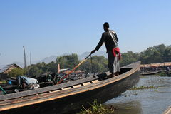 Myanmar Inle Lake Stock Photos