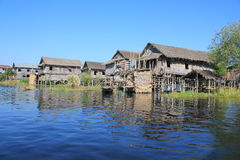 Myanmar Inle Lake Royalty Free Stock Photo