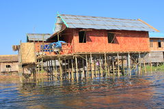 Myanmar Inle Lake Stock Photo