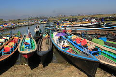 Myanmar Inle Lake Royalty Free Stock Photos