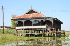 Myanmar Inle Lake Royalty Free Stock Images