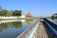Myanmar Inle Meer Royalty-vrije Stock Afbeeldingen