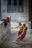 Myanmar - Inle sjö Arkivfoton