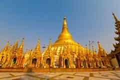 myanmar Jour de Shwedagon Photo stock