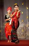 Myanmar Klassieke Dans Stock Afbeeldingen