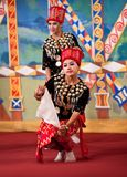 Myanmar Klassieke Dans Stock Foto's