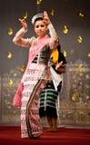 Myanmar Klassieke Dans Royalty-vrije Stock Fotografie