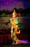 Myanmar-klassischer Tanz Lizenzfreies Stockbild